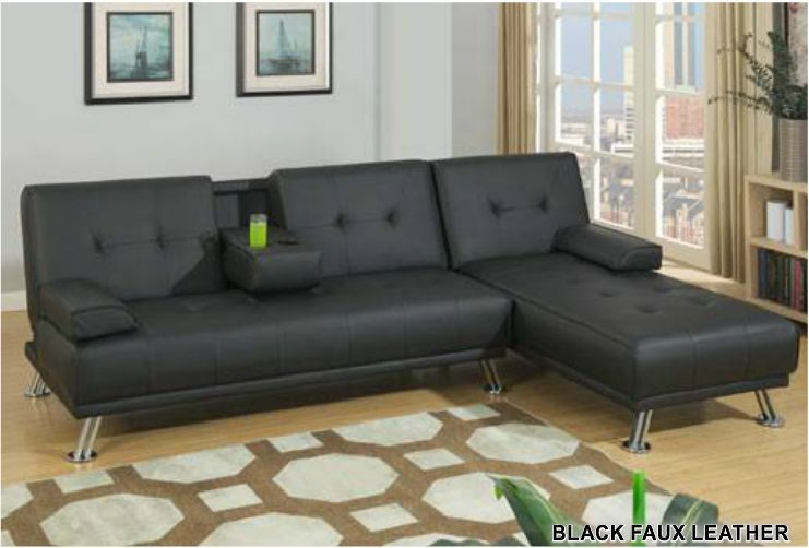 Reversible Sectional Sofa Chaise