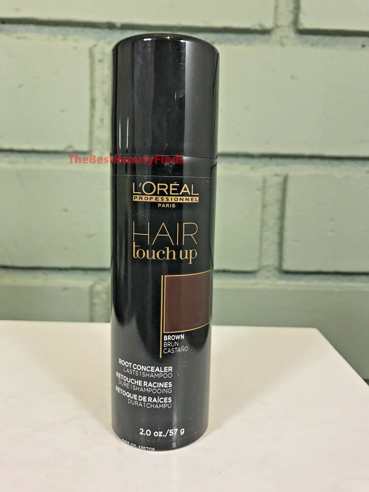 LOreal Hair Touch Up Root Concealer BROWN 2oz NEW