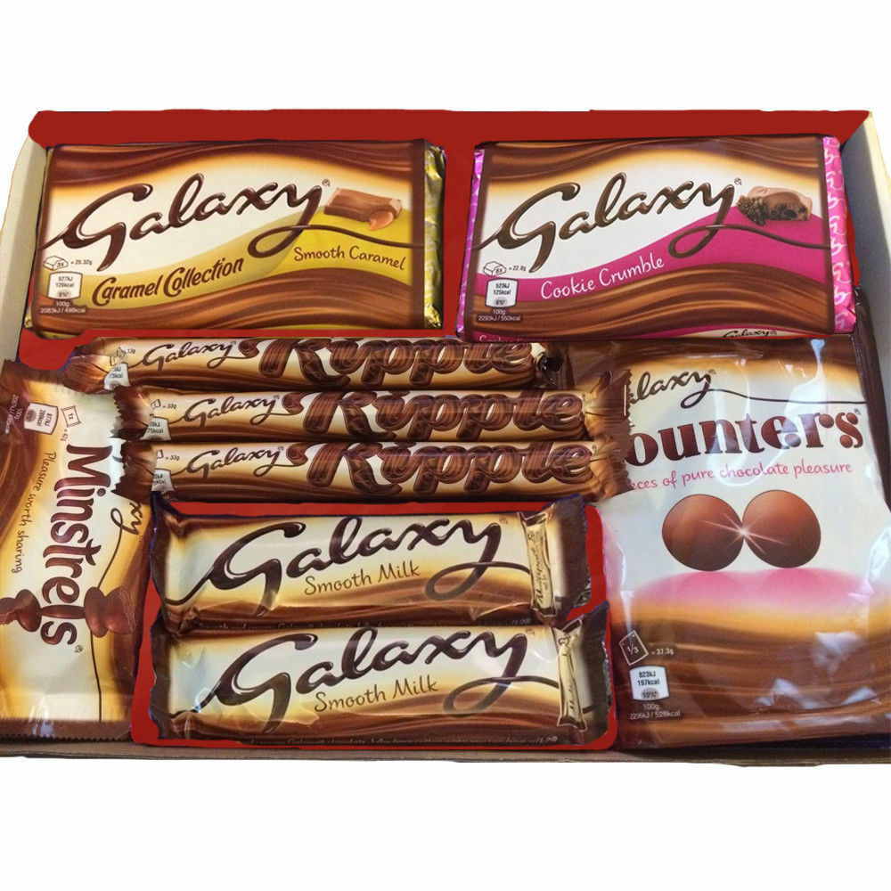 LARGE GALAXY CHOCOLATE HAMPER BOX GIFT EASTER MOTHERS DAY