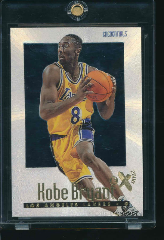 11 KOBE BRYANT 1996 EX CREDENTIALS RC 8499 Amp 24499 BOTH JERSEY NUMBERS LAKERS EBay