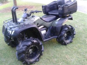 ATVs : Honda Rancher 350 four wheeler 4x4 ATV | eBay