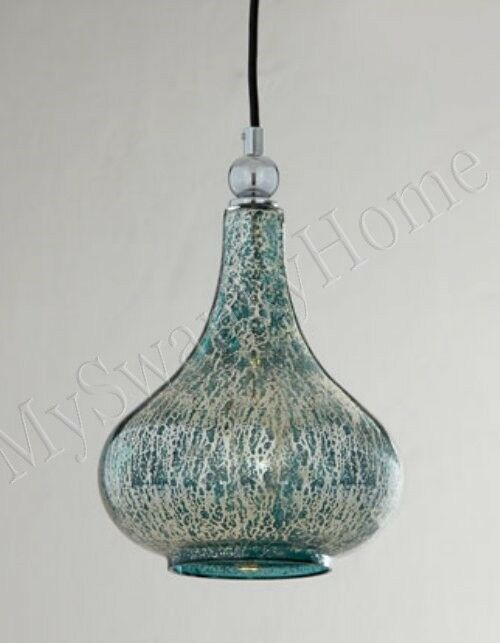 Blue Mini Pendant Light