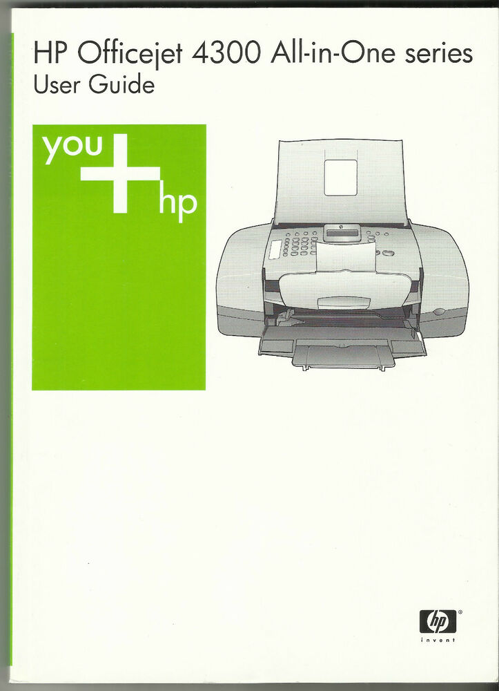 Hp 4300 Officejet All In One Series User Guide 128 Pge
