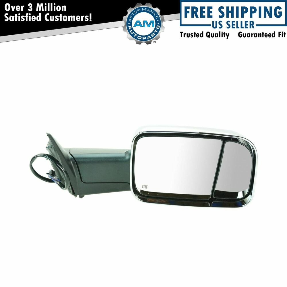 Chrome Dodge Ram 2500 Tow Mirrors Towing