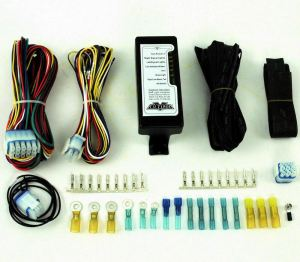 Complete Ultima LED Electronic Wire Wiring System Harness Kit Harley Evo Custom | eBay