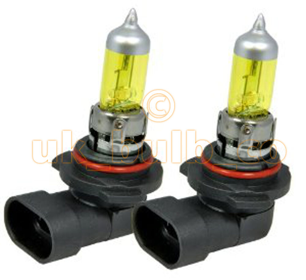 Yellow Bulbs Fog Lights