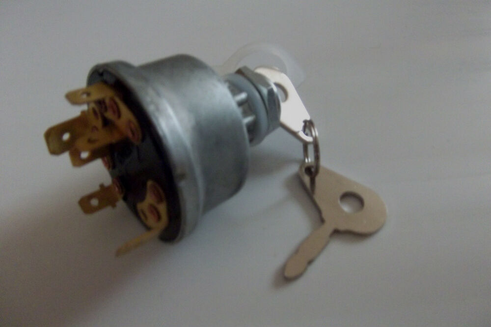 Universal Lucas Type Tractor Ignition Switch Diesel Digger