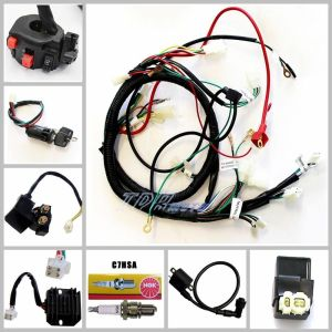 BUGGY WIRING HARNESS LOOM GY6 150cc Chinese Electric start