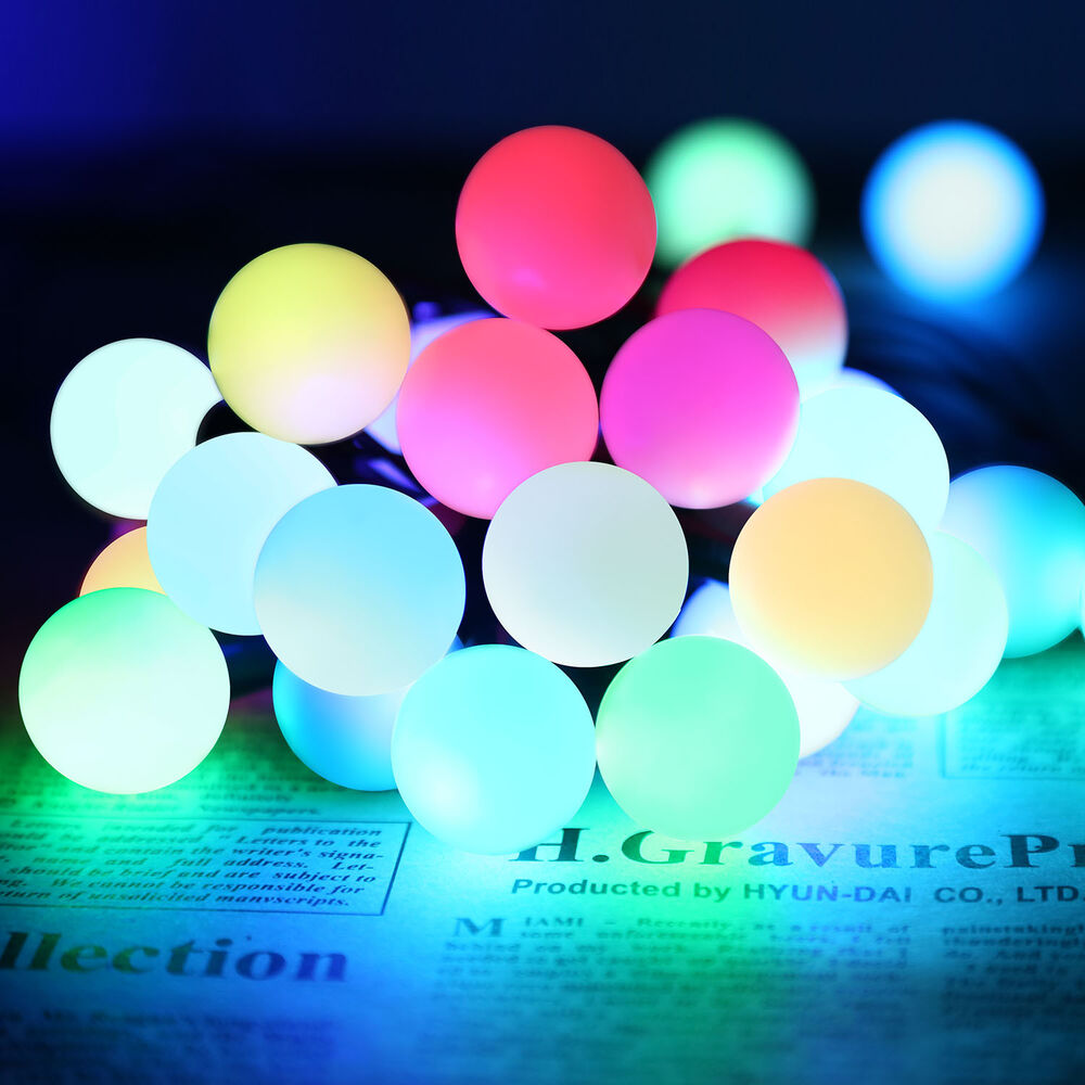 Color Changing Led String Lights