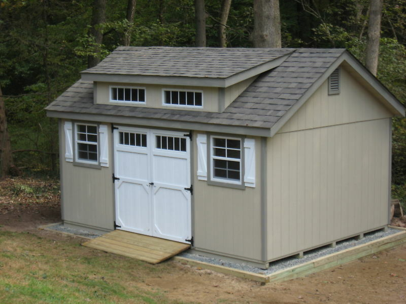 Wooden Shed Plans 12x10