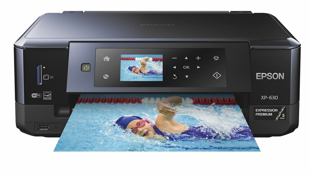 Epson Expression Premium Xp 630 Wireless All In One Inkjet