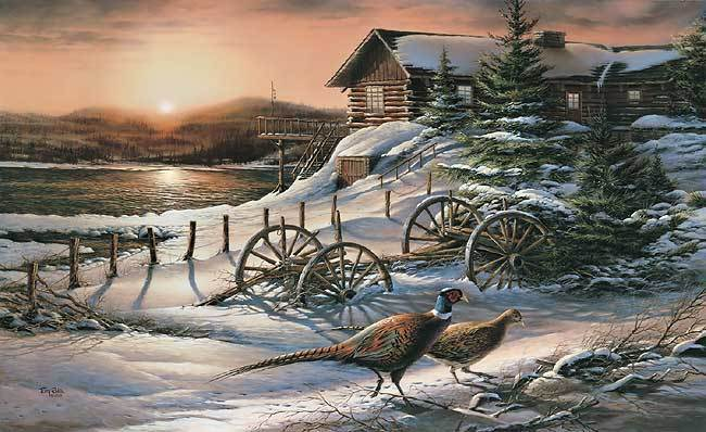Peaceful Evening Terry Redlin Limited Edition Print EBay