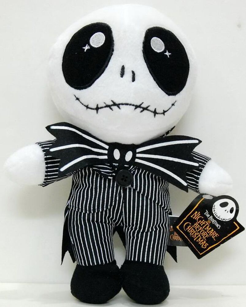 10 Disney Nightmare Before Christmas JACK Plush Toy Doll