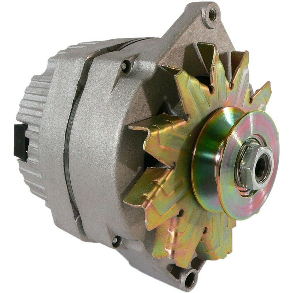 New Alternator Tractor 1 Wire 63 Amp 10si W Pulley For 1
