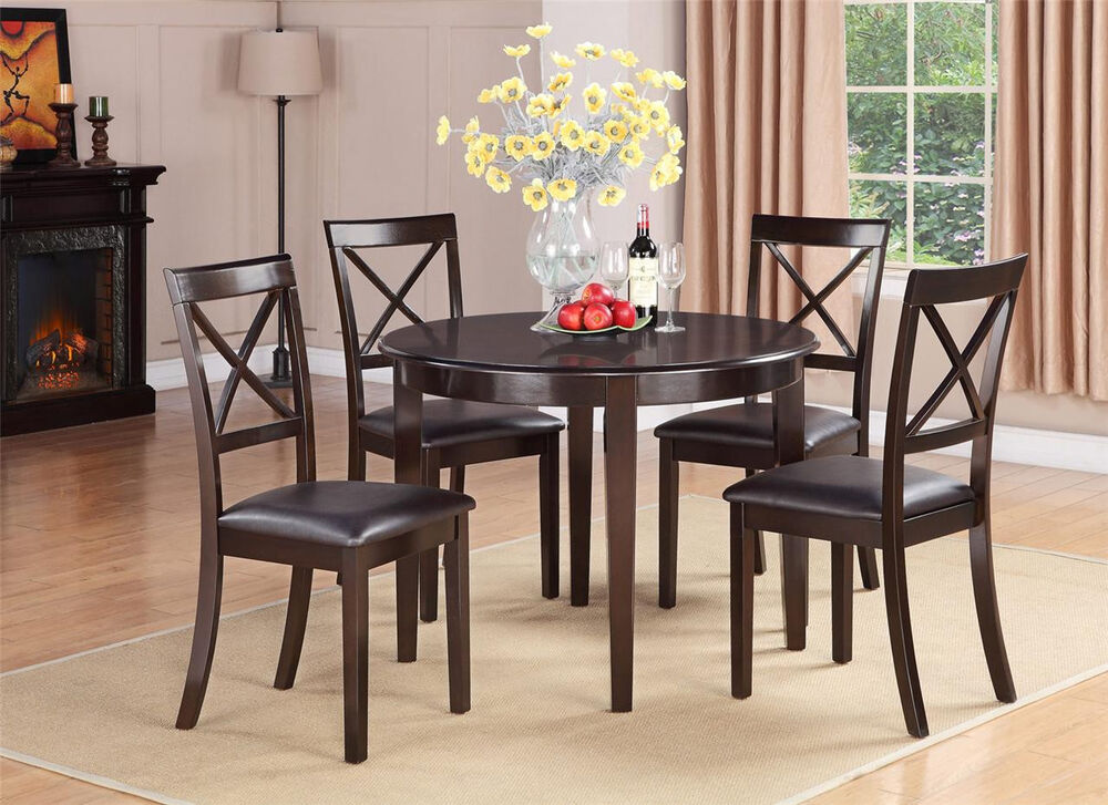 Round Kitchen Dining Table