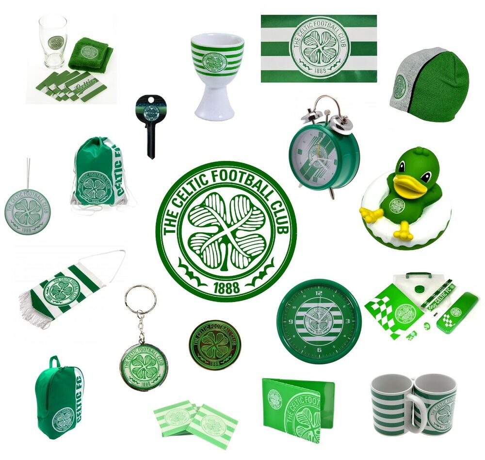 CELTIC FC Official Football Club Merchandise Gift