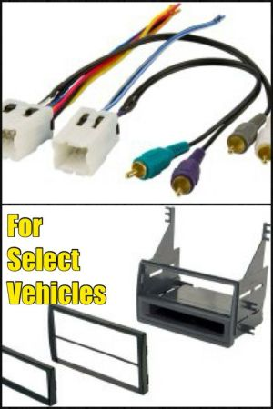 Car Stereo Radio Install Mount Dash Kit  Bose Wire for 05