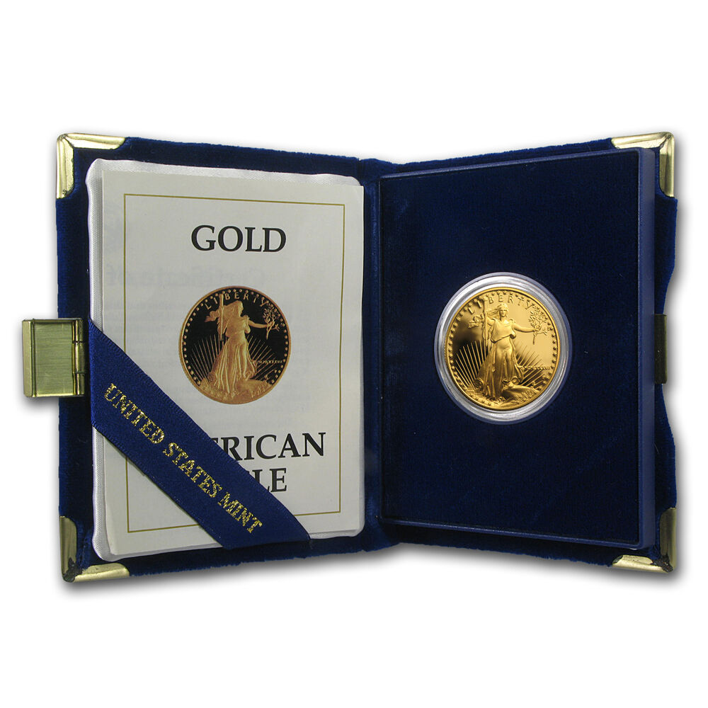 American Back Coin 5 Gold Gold Proof Eagle
