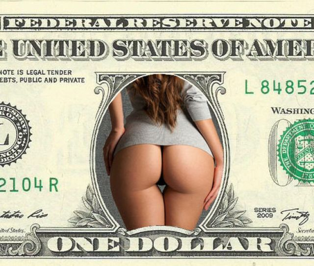 Big Booty Babe Color Dollar Bill Great For Bachelor Bday Party Real Money Ebay
