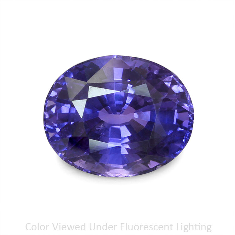 Natural Untreated Color Change Sapphire 617ct U5401