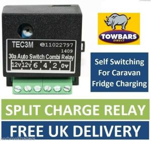 Self Switching Smart Relay for 12S  13 Pin Towbar Wiring Charging Fridge TEC3M | eBay