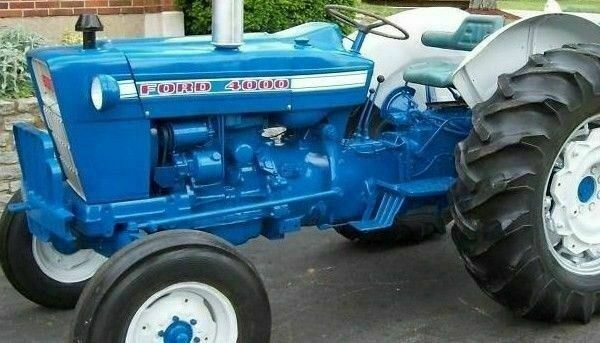 Ford Steering 3000 Diagram Tractor