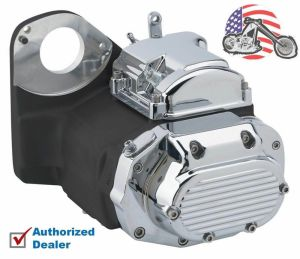 Ultima Black Chrome LSD 6Speed Transmission Harley Evo Softail Chopper Bobber | eBay
