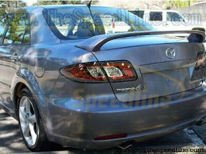 05 06 07 08 Mazdaspeed6 GHLOOK Clear Full LED Tail lights