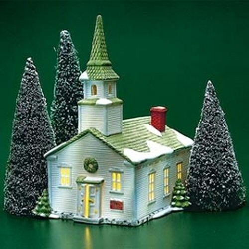 Dept 56 New England Village STEEPLE CHURCH 65390 RETIRED