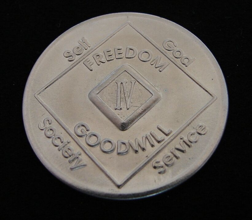 Medallion 12 Narcotics Year Anonymous