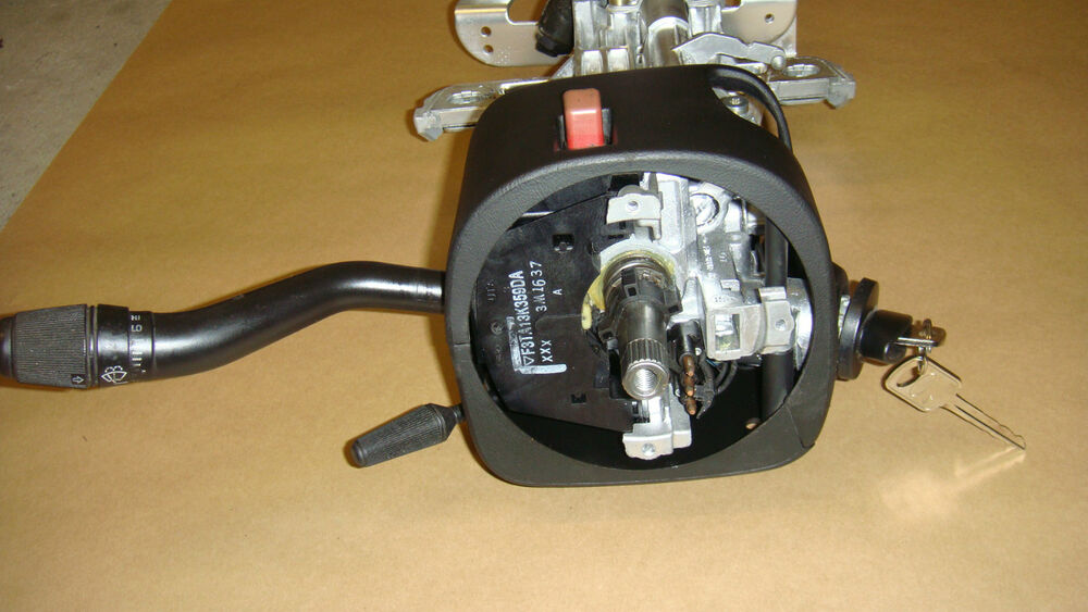 Steering 250 Column And Wheel Ford 2002 F