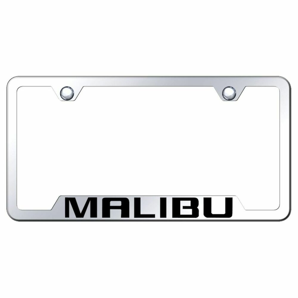 Chevrolet License Plate Frame Chrome