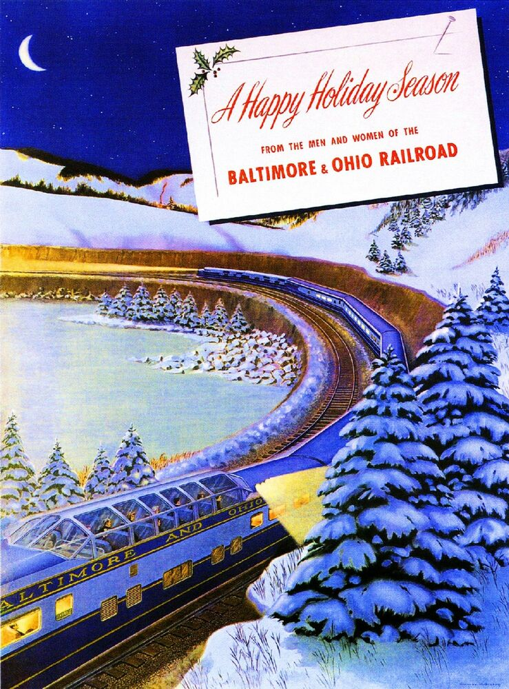And Railroad Ohio Baltimore Poster