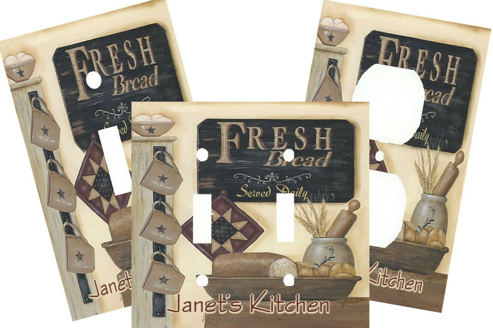 Personalized Light Switch Covers