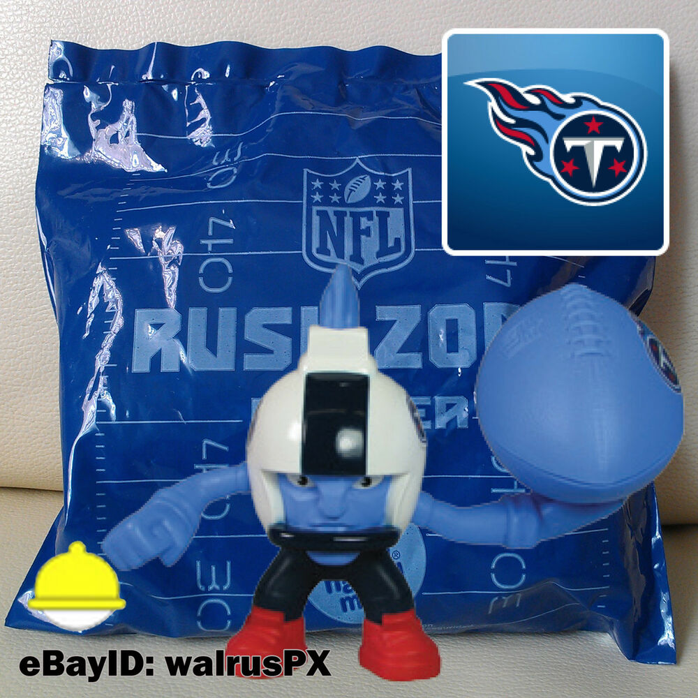 Rusher Rush Mcdonalds Zone Toys Nfl