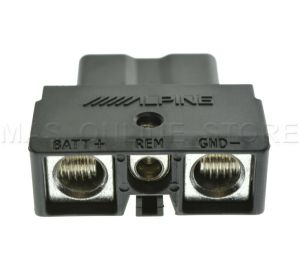ALPINE PDXV9 PDXV9 GENUINE QUICK CONNECT POWER PLUG *PAY