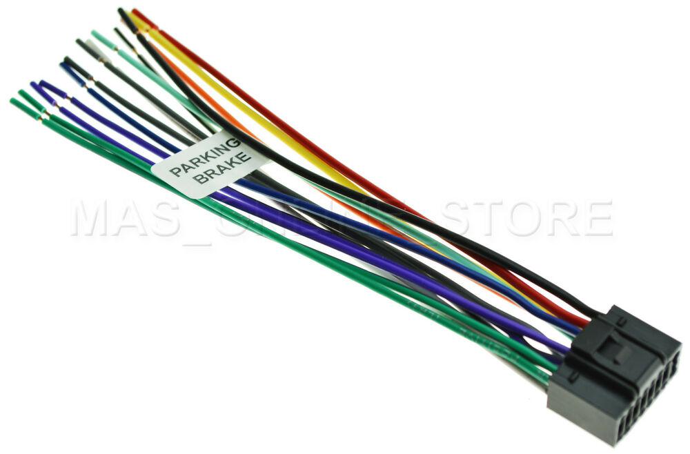 WIRE HARNESS FOR JVC KD-AVX77 KDAVX77 *PAY TODAY SHIPS