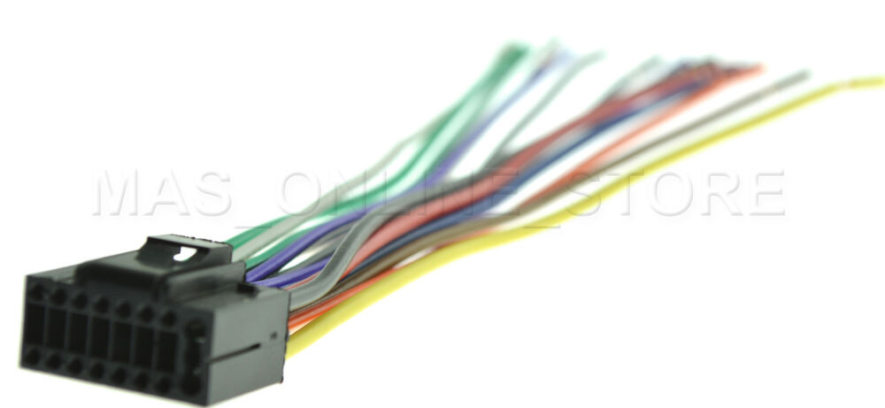 WIRE HARNESS FOR JVC KD-S29 KDS29 *PAY TODAY SHIPS TODAY