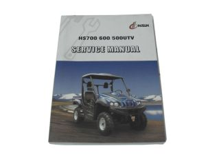 HS700  600  500 CC UTV service manual HISUN 396 Pages