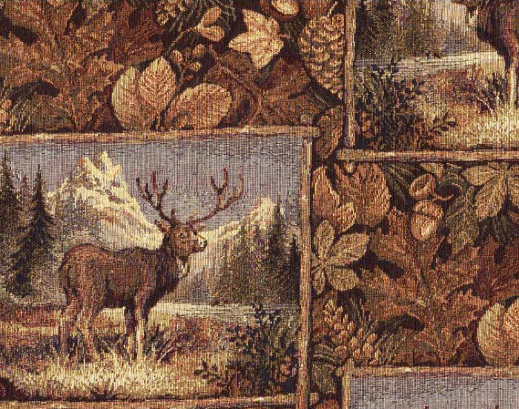 Rustic Furniture Upholstery Fabric