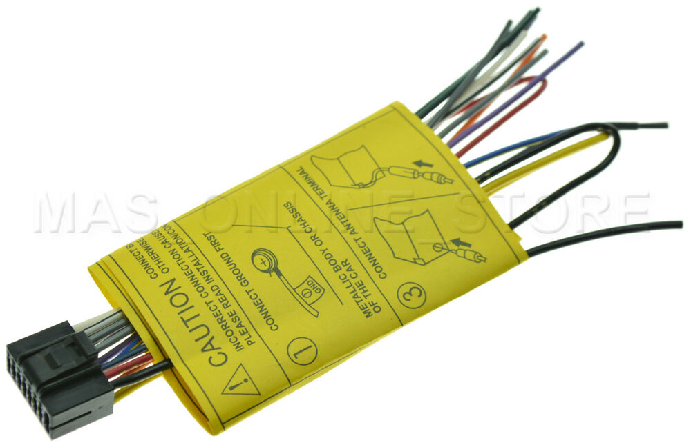 Jvc Kd Sr80bt Kdsr80bt Genuine Wire Harness Pay Today