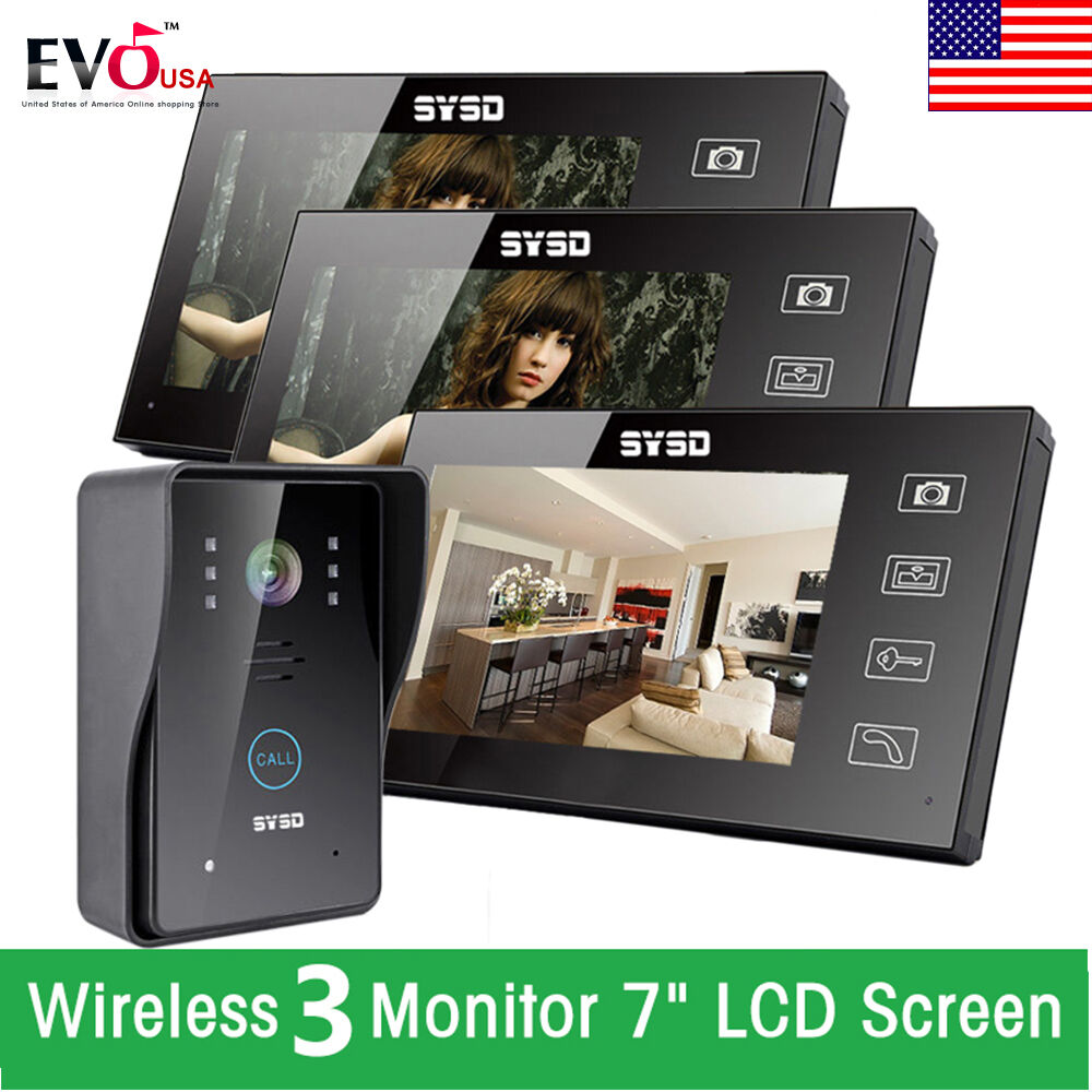 Wireless Security Camera System Zoom