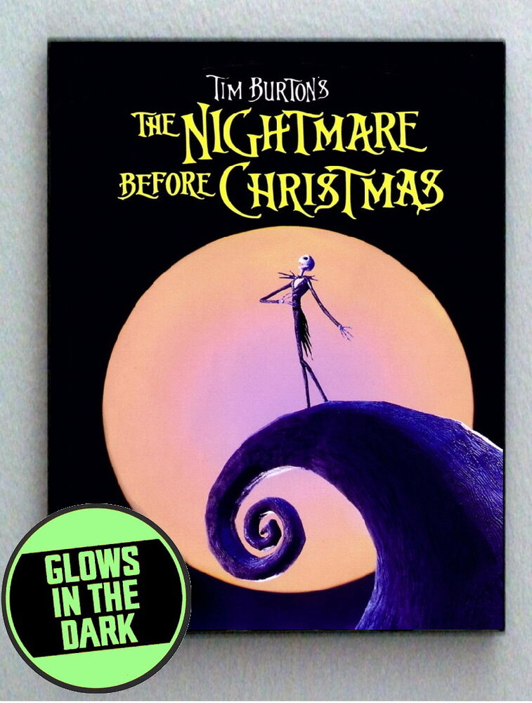 Nightmare Before Christmas Glow In The Dark Framed Cool