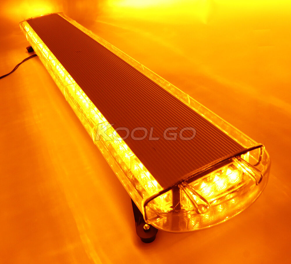 Amber Light And Red Bar