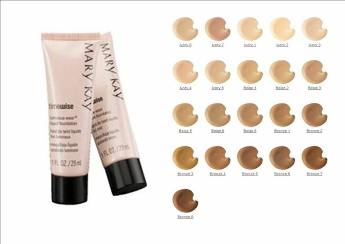 Mary Kay Liquid Foundation Color Chart Mountainstyle