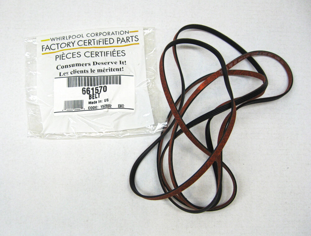Part Kenmore Belt Numbers Dryer