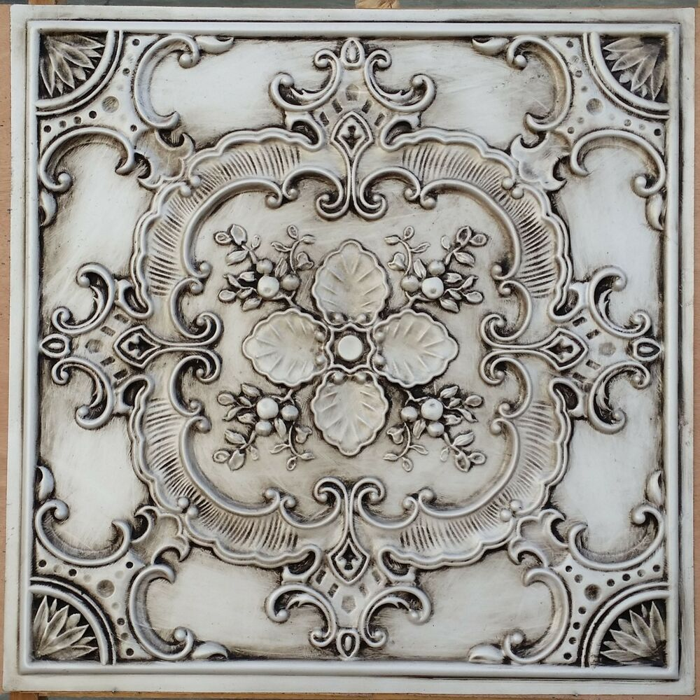 Pressed Tin Wall Art