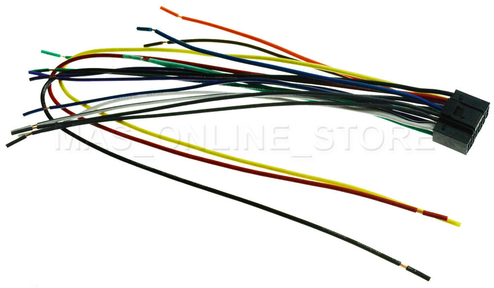 Wire Harness For Jvc Kd R660 Kdr660 Pay Today Ships Today