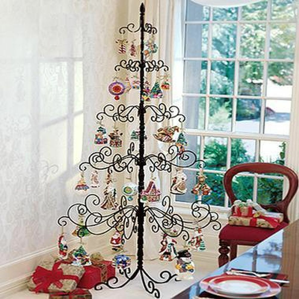 Wrought Stand Iron Ornament