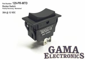 Rocker Switch Polarity Reverse Motor Control Maintained